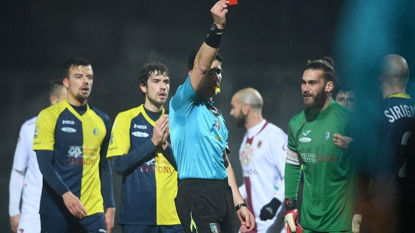 Lega Pro calcioscommesse, tolti 5 punti al Lamezia, -2 al Santarcangelo