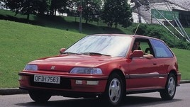 Dieci generazioni di Honda Civic