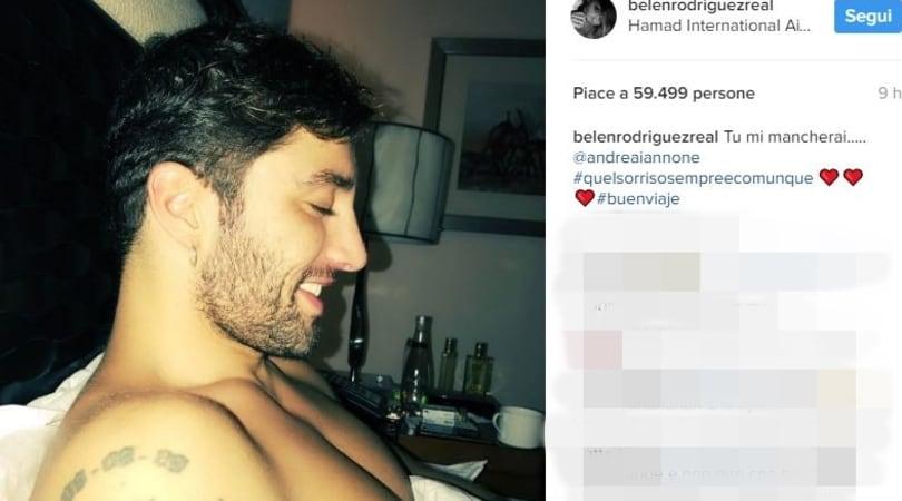 La MotoGp chiama Iannone, Belen su Instagram: «Mi mancherai»