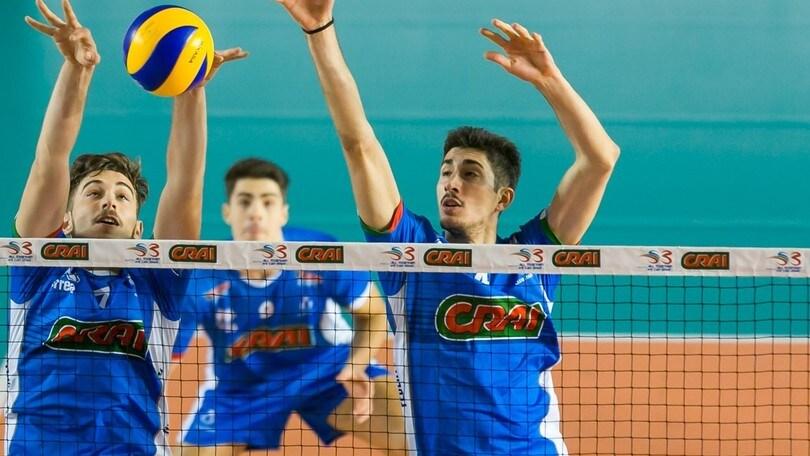 Volley: A2 Maschile, Pool Salvezza, il Club Italia supera Brescia