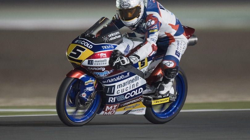 Moto3, Fenati: «Soddisfatto dopo il ritorno in pista»