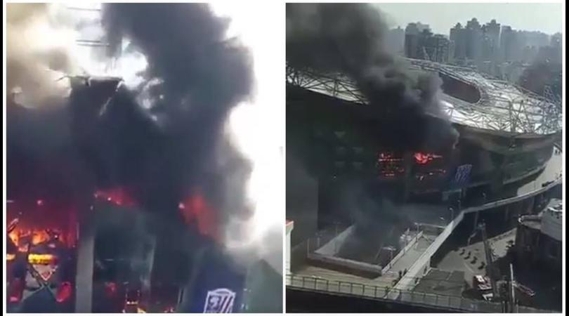 Cina, brucia lo stadio di Tevez