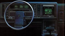 Il primo touchscreen per auto? E' del 1986