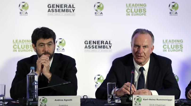 Tramonta l'ipotesi Superlega. Rummenigge: «Contenti di restare sotto la UEFA»