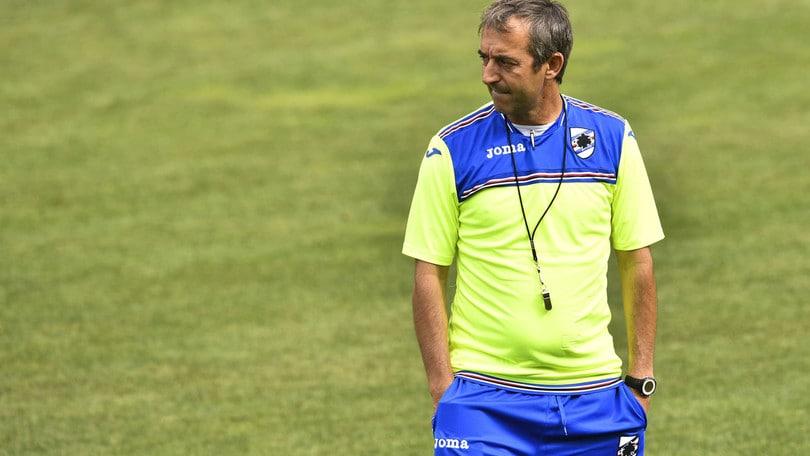 Serie A Sampdoria, fisioterapia per Schick. Muriel lavora in piscina