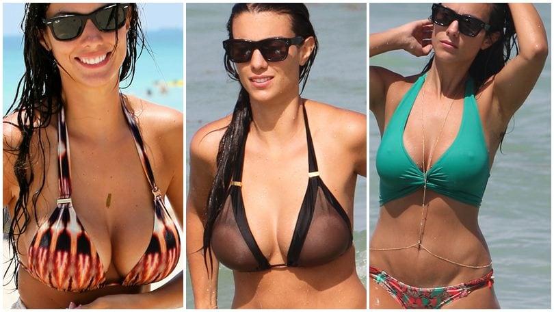 Ludivine Sagna incontenibile: è suo il bikini dell'estate