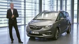 """Opel Zafira, la """"travelling lounge"""""""