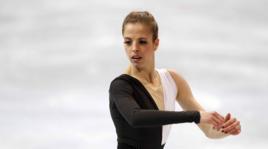 Carolina Kostner: la bella pattinatrice azzurra rimane giù dal podio
