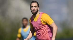 Juventus, Higuain di corsa verso il San Paolo