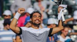 Tennis: Fognini in finale a Miami, che gioia!