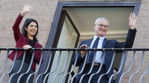 Roma, Claudio Ranieri premiato dal sindaco Virginia Raggi
