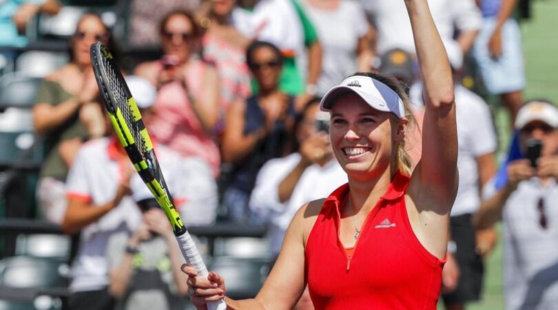 Tennis, Wozniacki prima finalista ai Masters 1000 di Miami