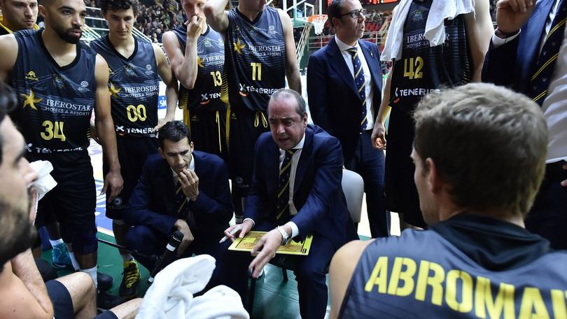 FIBA Champions, le Final Four si giocheranno a Tenerife