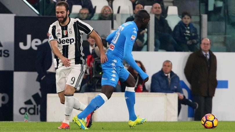 Napoli - Juve: il gol di Higuain a 2,30
