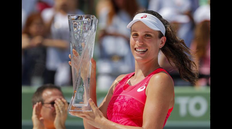 Masters 1000 Miami: Johanna Konta è la campionessa del torneo
