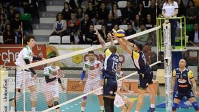 Volley: A2 Maschile, Play Off Promozione, Spoleto espugna Reggio ed è in semifinale
