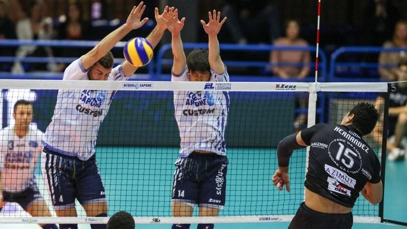 Volley: Play Off 5° posto, Verona e Piacenza sul 2-0, Molfetta pareggia i conti