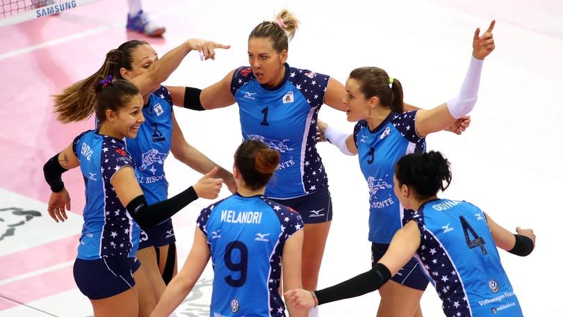 Volley: A1 Femminile, vince Bolzano ma avanti va Firenze