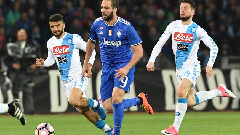 Coppa Italia, Napoli-Juve: Higuain ci riprova, il gol a 2,20