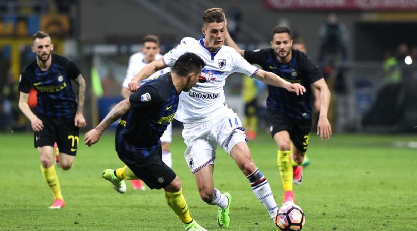 Calciomercato: «Spie dell'Atletico a San Siro per Inter-Sampdoria»