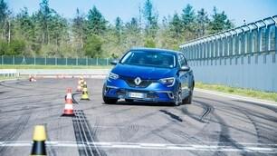 Renault Megane GT in pista