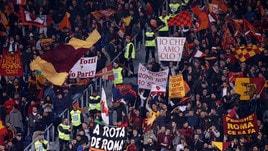 Roma-Lazio, ecco le curve senza le barriere