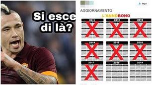 Roma, ciao Coppa Italia. E il web se la ride