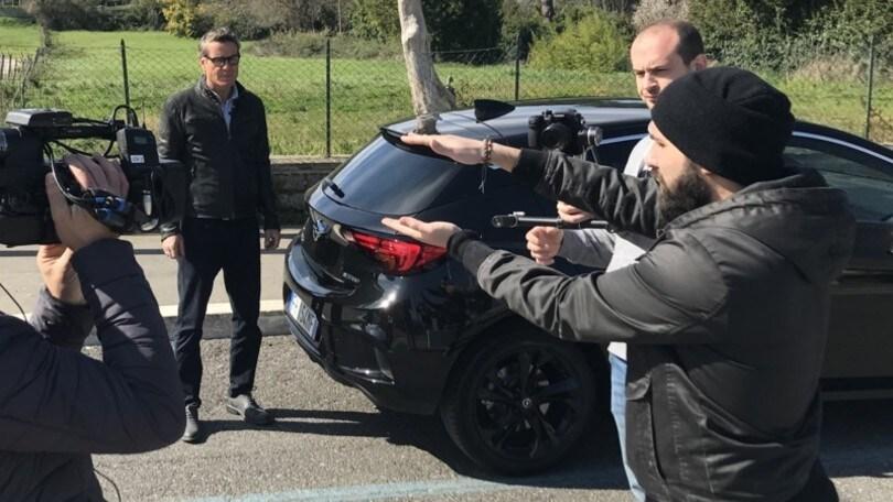 Jimmy Ghione prova la Opel Astra bi-turbo 160 CV