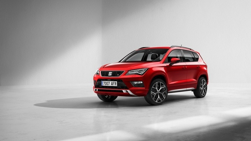 seat ateca ecco la fr e il nuovo 2 0 tsi da 190 cv corriere dello sport. Black Bedroom Furniture Sets. Home Design Ideas