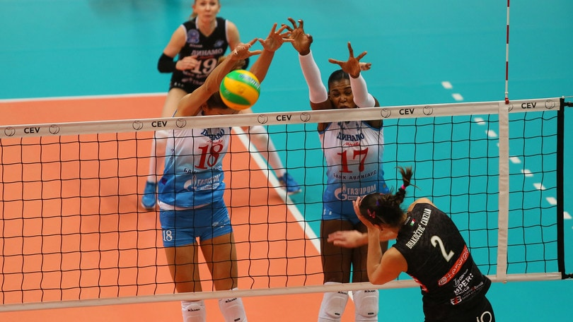 Volley: Champions Femminile, vince ancora la Dinamo, Modena è fuori