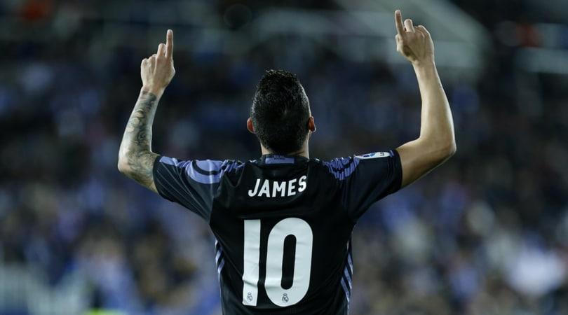 Real Madrid, James è un caso: furia dopo la sostituzione