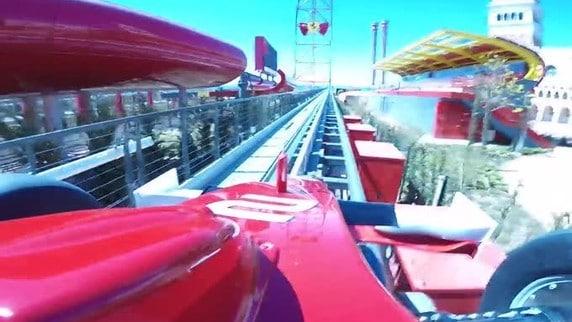 Red Force, adrenalina Rossa al Ferrari Land
