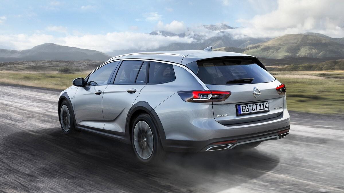 Opel Insignia Country Tourer, la wagon per l'avventura