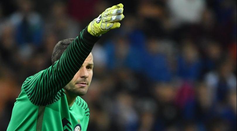 Inter, Handanovic come Totti e Buffon: «Gioco fino a 40 anni»