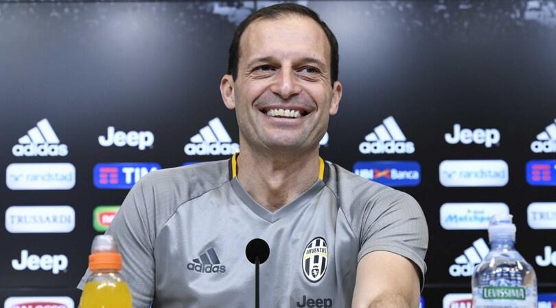 Allegri: «Resto alla Juventus. Dybala forse giocherà da centravanti»