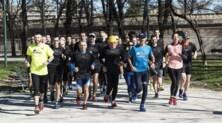 Genny di Napoli per l'ultima running class della Wings for Life World Run