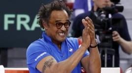 Yannick Noah, che show in Coppa Davis contro la Gran Bretagna