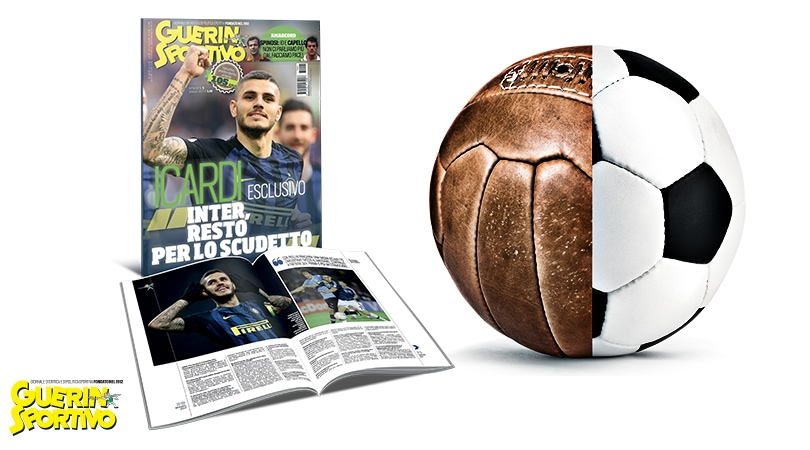 Il nuovo Guerin Sportivo: Mauro Icardi si racconta in esclusiva
