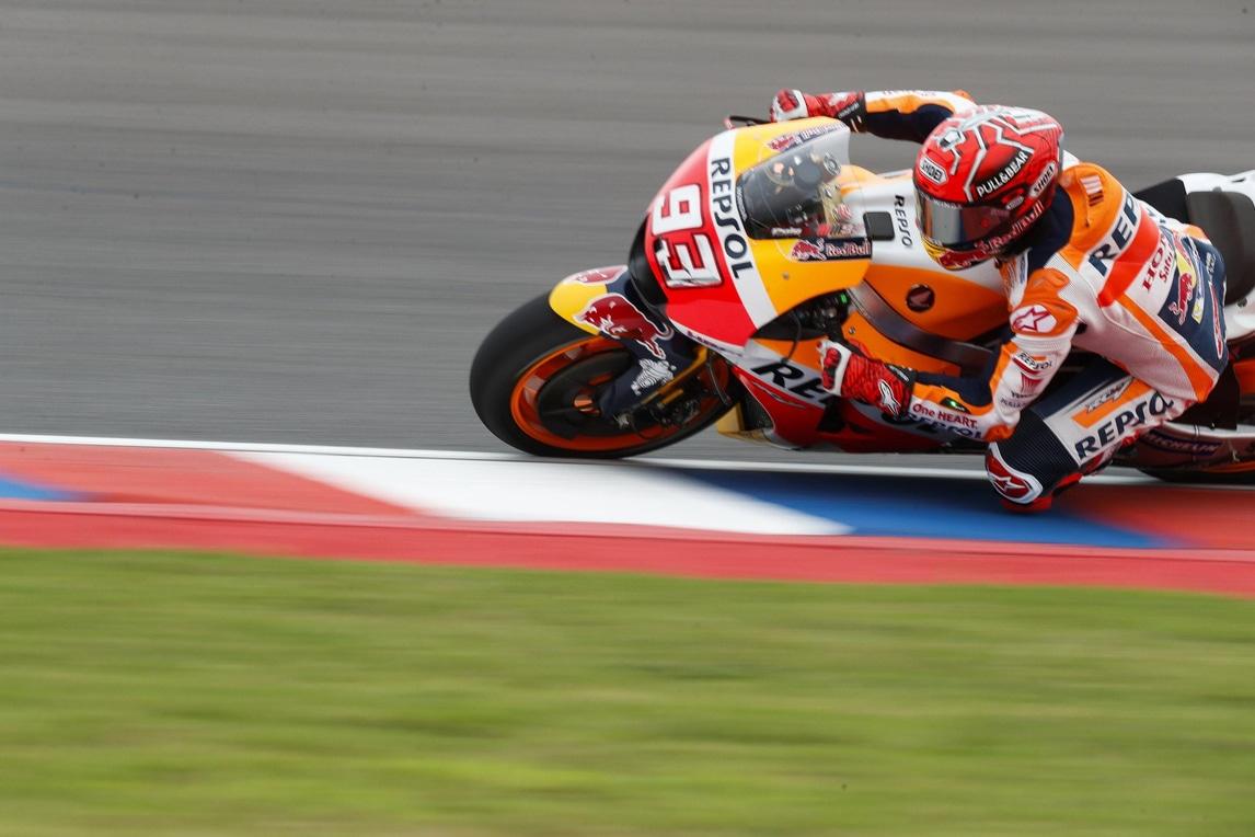 MotoGp, Argentina: Marquez è il più veloce nelle FP4, Rossi 13° - Corriere dello Sport