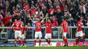 Bundesliga: il Bayern Monaco travolge 4-1 il Borussia Dortmund, Lipsia a -10
