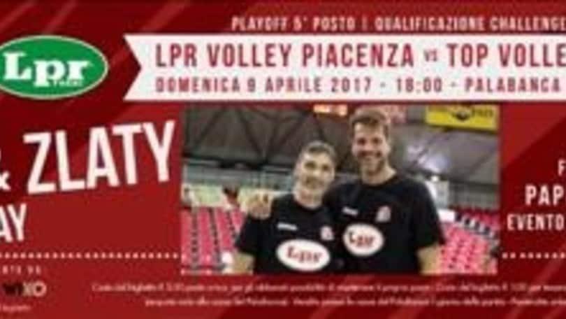 """Volley: Superlega, l'attesa è finita, domani """"Papi e Zlaty Day"""""""