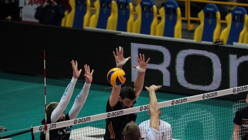 Volley: Play Off 5° posto, Verona con il terzo tie break elimina Sora