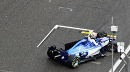 F1, Gp Cina: botto Giovinazzi, costretto al ritiro