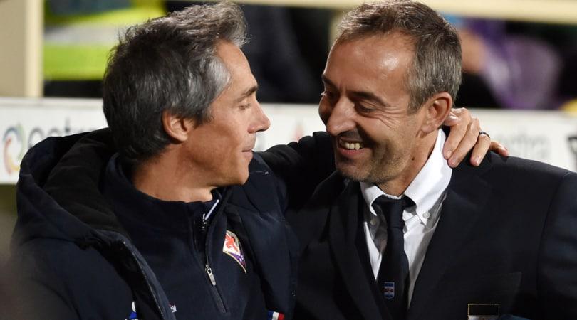 Serie A, Sampdoria-Fiorentina: formazoni ufficiali e diretta dalle 12.50