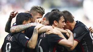 Il Milan travolge il Palermo: 4-0 a San Siro