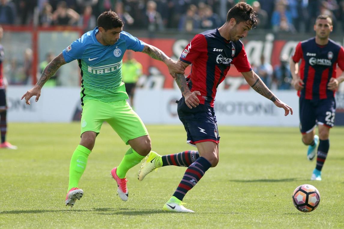 Il Crotone sorprende: Inter battuto 2-1