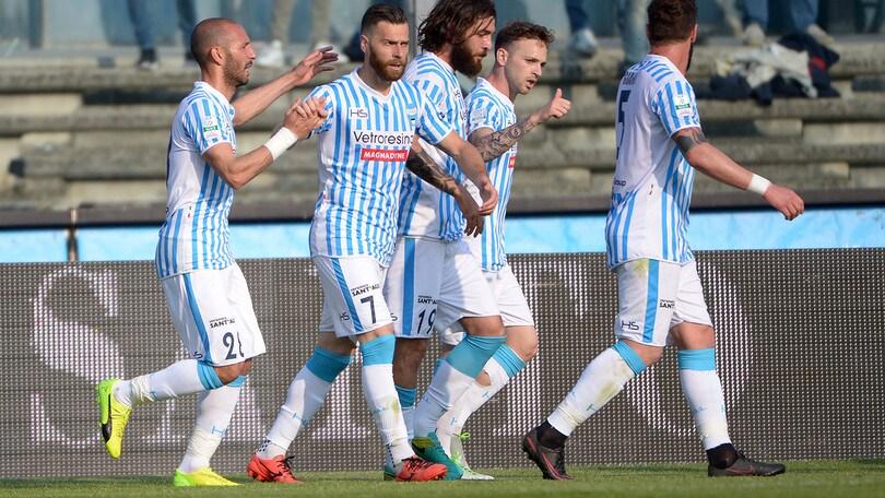 Serie B, Brescia-Spal 1-3: Mora e Antenucci per il primo posto