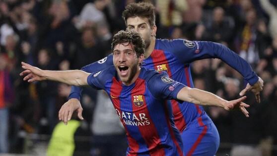Barcellona, Sergi Roberto rinnova fino al 2022