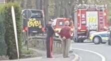 Champions League, tre esplosioni vicino al bus del Borussia Dortmund: Bartra operato