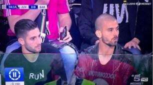 Quanti vip per Juventus-Barcellona: c'è anche Gagliardini!